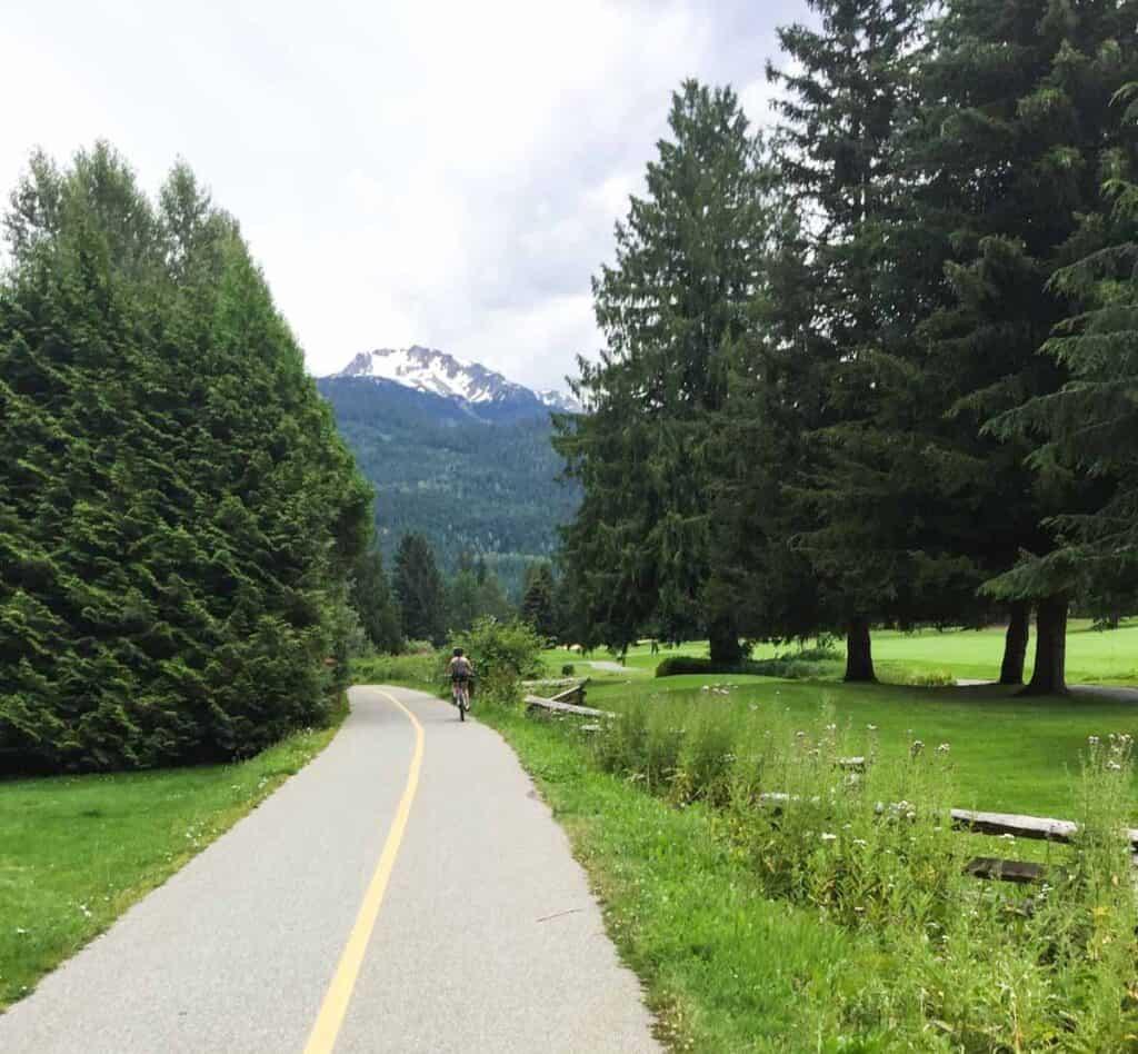 A mountain view, Whistler, BC