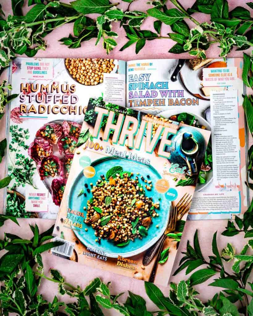 Thrive Magazine 35 featuring the work of Beautiful Ingredient